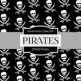 Pirates Digital Paper DP2020 - Digital Paper Shop - 2