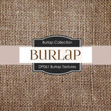 Burlap Textures Digital Paper DP061 - Digital Paper Shop - 2