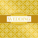 Gold Wedding Digital Paper DP802 - Digital Paper Shop - 3