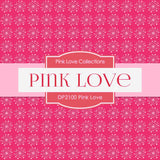 Pink Love Digital Paper DP2100 - Digital Paper Shop - 3