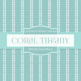 Coral Tiffany Digital Paper DP2150 - Digital Paper Shop - 2