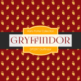 Gryffindor Digital Paper DP2597 - Digital Paper Shop - 3