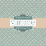 Vintage Blue Digital Paper DP854 - Digital Paper Shop - 3