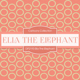 Ella The Elephant Digital Paper DP2193 - Digital Paper Shop - 3