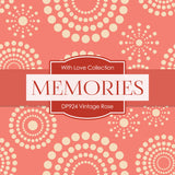 Vintage Rose Digital Paper DP924 - Digital Paper Shop - 3