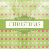 Christmas Angels Digital Paper DP1522A - Digital Paper Shop - 2