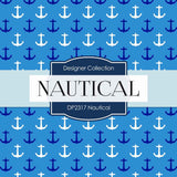 Nautical Digital Paper DP2317 - Digital Paper Shop - 3