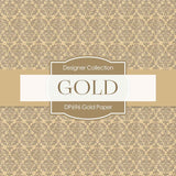Gold Paper Digital Paper DP696 - Digital Paper Shop - 2