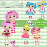 Lalaloopsy Digital Paper DP3117 - Digital Paper Shop - 4