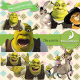 Shrek Digital Paper DP3218 - Digital Paper Shop - 3