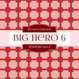 BIG Hero 6 Digital Paper DP4523 - Digital Paper Shop - 2