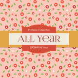 All Year Digital Paper DP3449