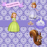 Sofia The First Digital Paper DP3037A - Digital Paper Shop - 4