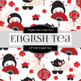 English Tea Digital Paper DP1230 - Digital Paper Shop - 3