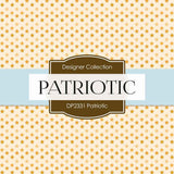 Patriotic Digital Paper DP2331 - Digital Paper Shop - 2