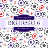 BIG Hero 6 Digital Paper DP4523 - Digital Paper Shop - 4