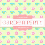 Garden Party Digital Paper DP286 - Digital Paper Shop - 3
