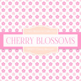 Cherry Blossoms Digital Paper DP2271 - Digital Paper Shop - 3