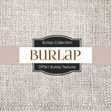 Burlap Textures Digital Paper DP061 - Digital Paper Shop - 3