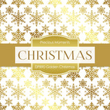 Golden Christmas Digital Paper DP890 - Digital Paper Shop - 2