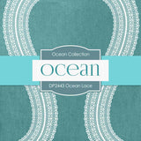 Ocean Lace Digital Paper DP2443 - Digital Paper Shop - 3