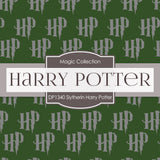 Slytherin Harry Potter Digital Paper DP1340 - Digital Paper Shop - 2