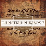 Christian Phrases 7 Digital Paper DW006