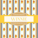 Winnie The Pooh Digital Paper DP2224 - Digital Paper Shop - 3