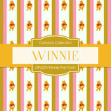 Winnie The Pooh Digital Paper DP2223 - Digital Paper Shop - 3