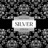 Silver Digital Paper DP989 - Digital Paper Shop - 3