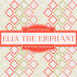 Ella The Elephant Digital Paper DP2193 - Digital Paper Shop - 4
