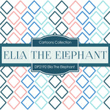 Ella The Elephant Digital Paper DP2192 - Digital Paper Shop - 3