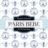 Paris Bebe Digital Paper DP1735 - Digital Paper Shop - 2