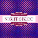 Night Space Digital Paper DP4077 - Digital Paper Shop - 2