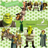 Shrek Digital Paper DP3212 - Digital Paper Shop - 3