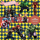 Avengers Digital Paper DP2714 - Digital Paper Shop - 2