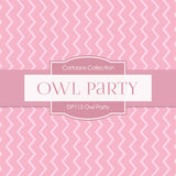 Owl Party Digital Paper DP115 - Digital Paper Shop - 3