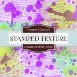 Stamped Texture Digital Paper DP2208 - Digital Paper Shop - 4