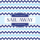Sail Away Boy Digital Paper DP1628 - Digital Paper Shop - 2