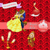 Beauty And The Beast Digital Paper DP3027