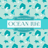 Ocean Life Digital Paper DP210 - Digital Paper Shop - 3
