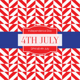 4th July Digital Paper DP4168 - Digital Paper Shop - 4