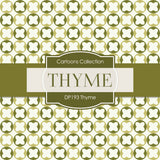 Thyme Digital Paper DP193 - Digital Paper Shop - 3