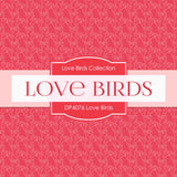 Love Birds Digital Paper DP4076A - Digital Paper Shop - 3