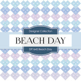 Beach Day Digital Paper DP1642 - Digital Paper Shop - 3