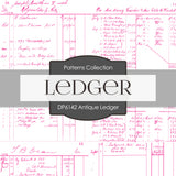 Antique Ledger Digital Paper DP6142B
