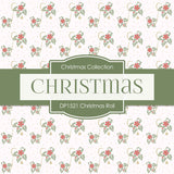 Christmas Roll Digital Paper DP1521A - Digital Paper Shop - 3