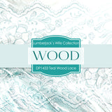 Teal Wood Lace Digital Paper DP1433 - Digital Paper Shop - 3