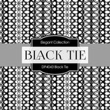 Black Tie Digital Paper DP4043A - Digital Paper Shop - 3