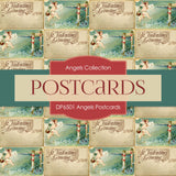 Angel Postcards Digital Paper DP6501